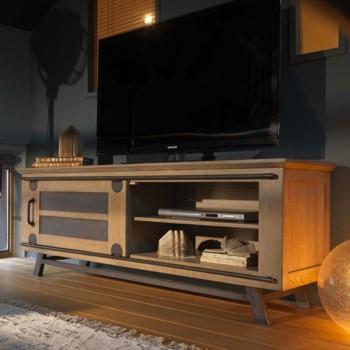 meuble tv broadway l130xp45xh60cm