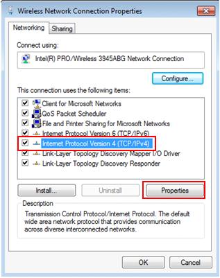 Quick Way To Configure IP Address And Other Network Information In Windows 7