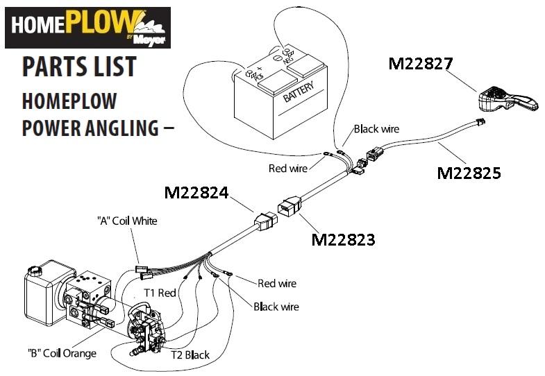 curtis plow side 2 plug wiring kit sno pro
