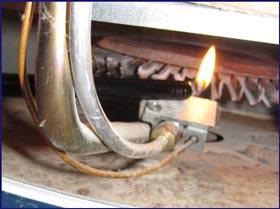 Water Heater Pilot Light Gas Water Heaters Water