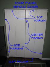 Adjusting Bifold Door Height And Margins Closet
