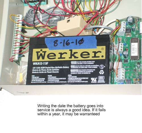System Wireless Alarm Diy