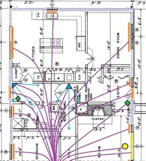 Home Alarm Wiring for a New House
