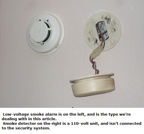 troubleshooting smoke alarm wiring at the detectors