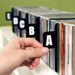 alphabetical cd dividers cd and dvd storage