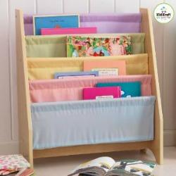 sling bookshelf for kids