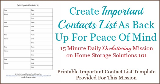 +1 312 294 8792 steve kaempf phone: Free Printable Important Contact List Template