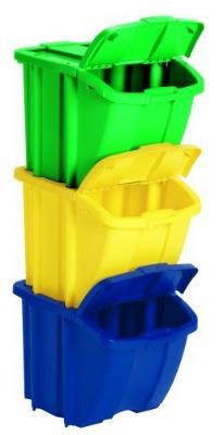 suncast recycle bin kit 52 week home organization