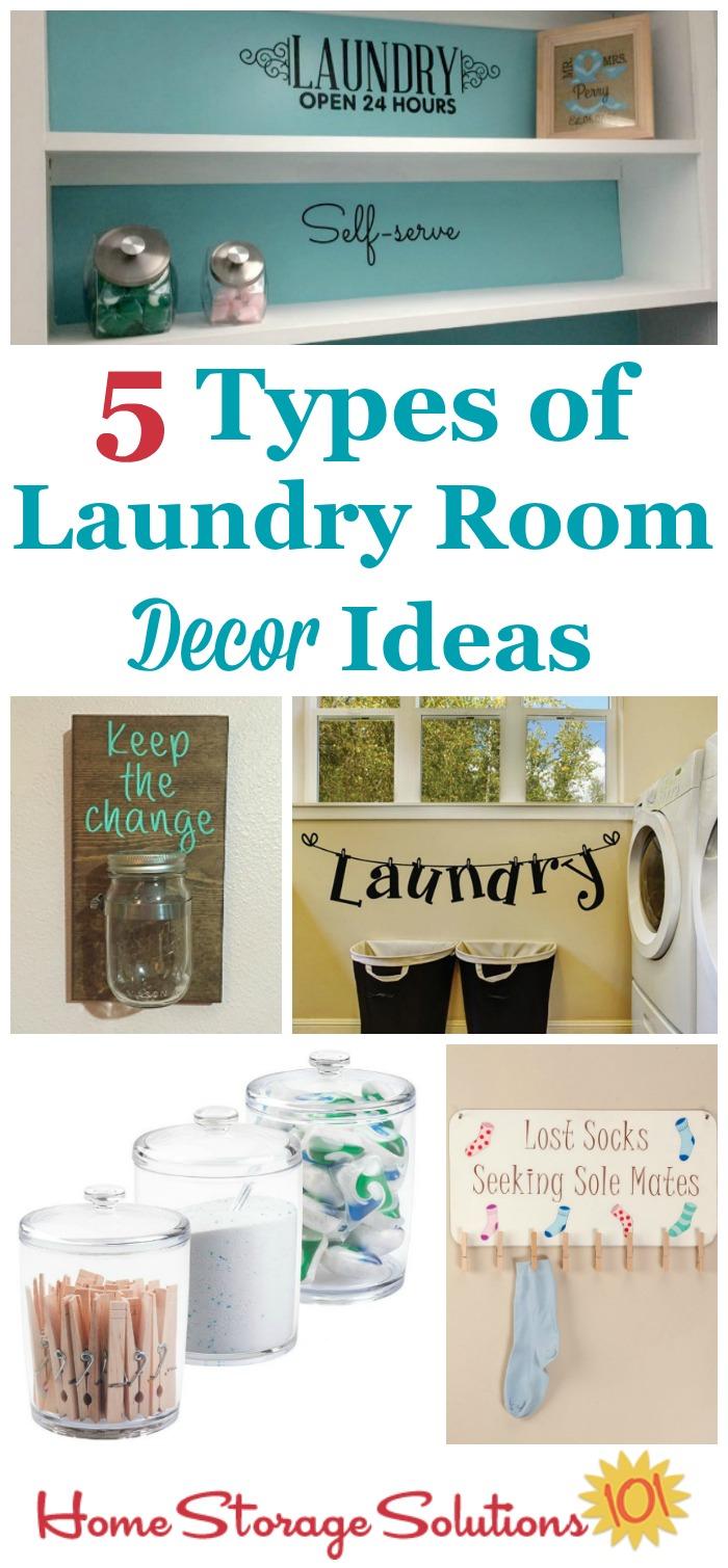 5 Laundry Room Decor Ideas on Laundry Decoration  id=47271