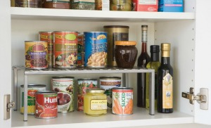 expandable shelf Pantry and Spices Organization