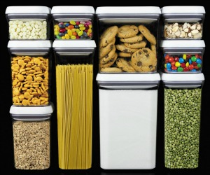 Oxo food containers Pantry and Spices Organization
