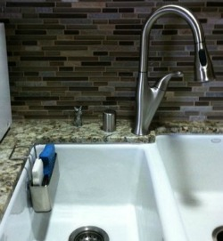Simple Human sink caddy Kitchen Drawers and Cabinets Organization