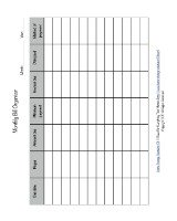 free printable monthly bill organizer
