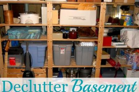 How To Declutter Your Basement  Without Making A Huge Mess In The     How To Declutter Your Basement