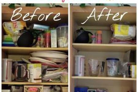 How To Declutter Kitchen Cabinets Step By Step Instructions For Removing Kitchen Cabinet Clutter
