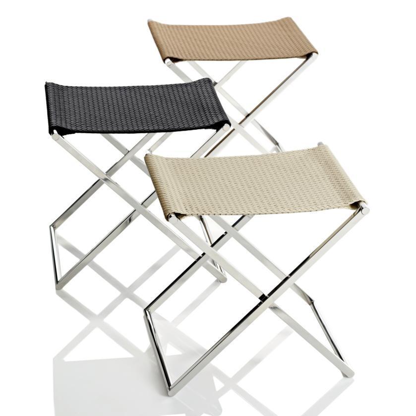folding stool luggage rack