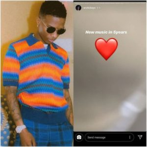 Wizkid To Drop New Song In 5 Years Time (2024) 3
