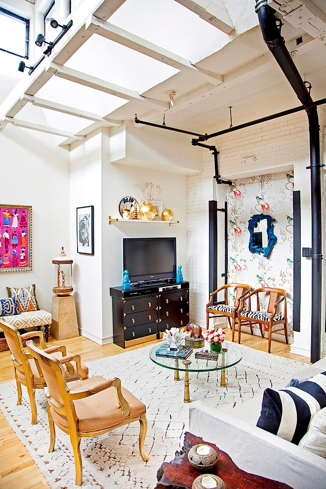 Modern Bohemian Loft by Design Manifest | HomeAdore on Boho Modern Decor  id=22375