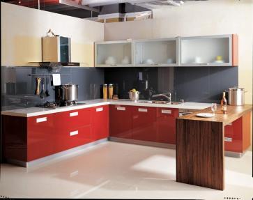 red-colour-kitchen-design