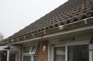 rain gutter maintenance