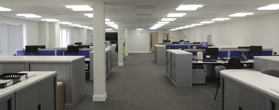 commercial office refurbishment