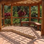 Garden Decking Costs : Softwood, Hardwood Timber, Composite