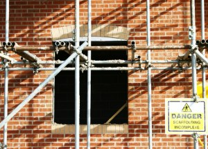 modern scaffolding