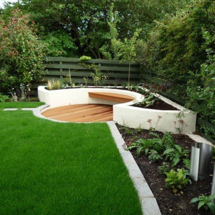 Simple Contemporary Garden Design