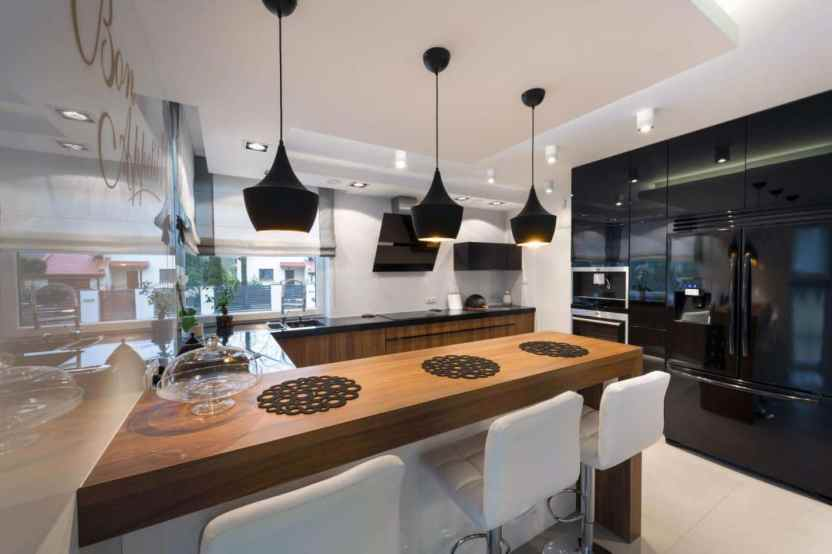 bar stools which will beautifully complement your contemporary kitchen space