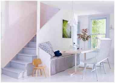 kitchen bench seating idea for more versatile seating arrangement