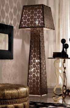 Lace Lampshade Lamp by Fior