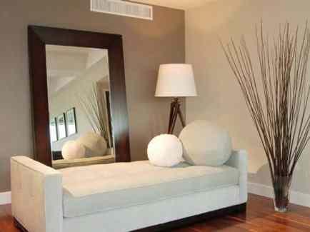 Living Room Frameless Wall Mirror Modern Mirrors Antique Small Full Length Decor Home Art Decorative Round