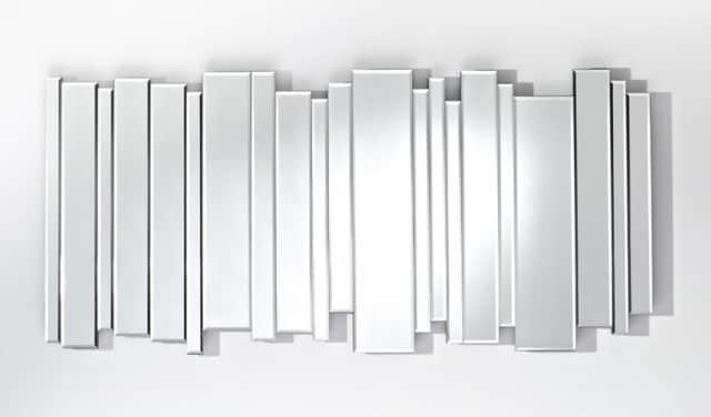 MIX miroir mural design en verre contemporain-miroir-mural