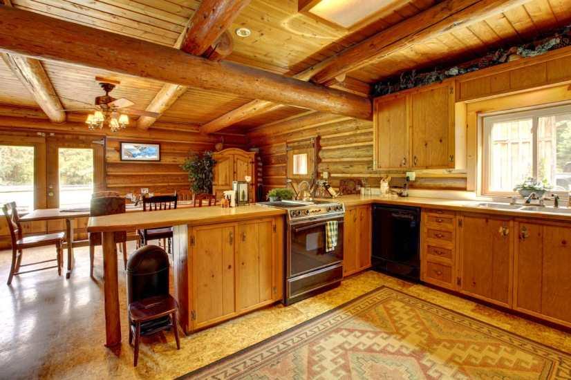 fabolous kitchen with a rustic charm
