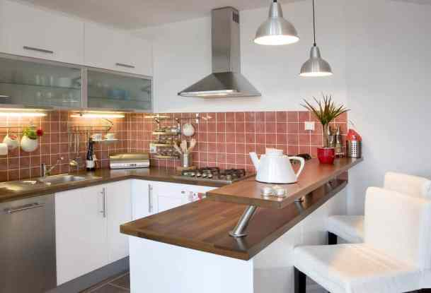 small kitchen idea with great tiles to add to your list