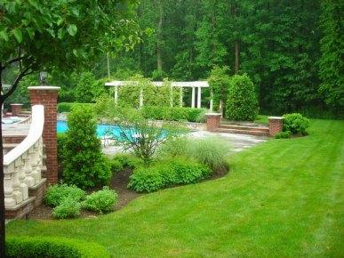 Traditional Garden Landscape