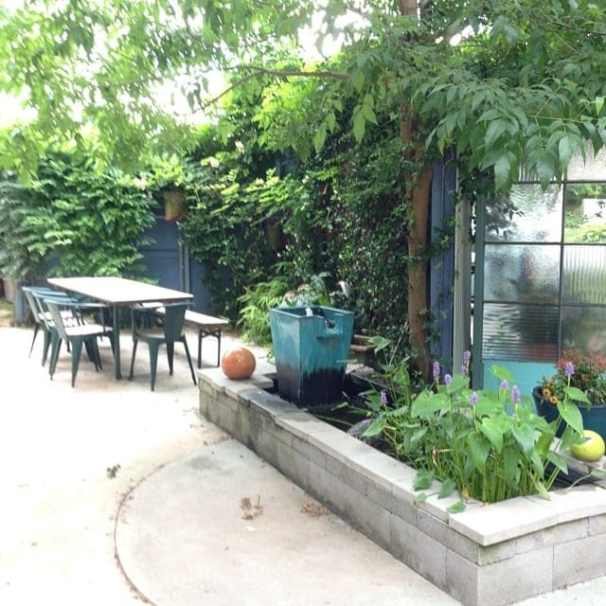 Urban Oasis bed and Breakfast garden