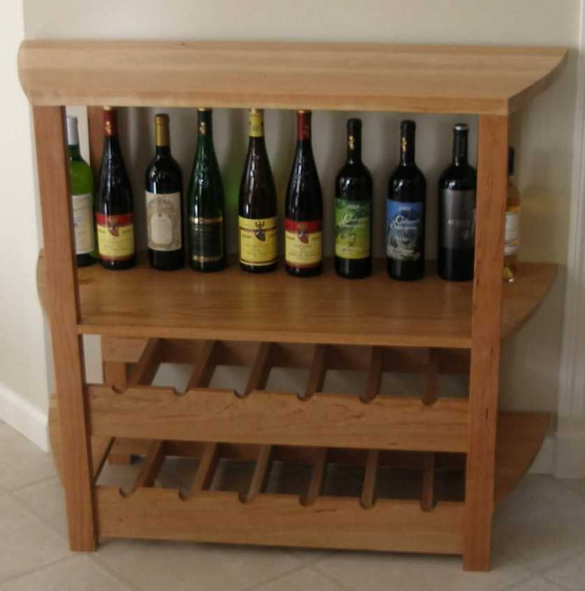 Wine Rack Furniture in Many Cool Designs