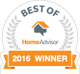 Joshua Miller Roofing & Contracting is a Best of HomeAdvisor Award Winner