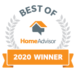 Best Home & Property Services is a Best of HomeAdvisor Award Winner