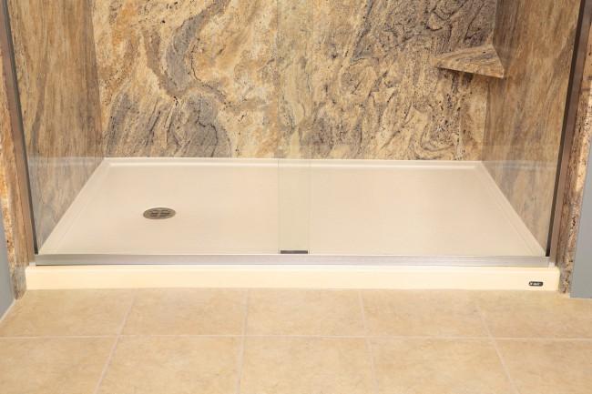 to repair a fiberglass tub shower pan