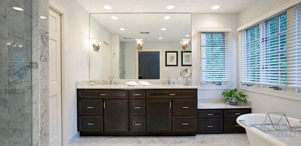 Modern Bathroom Design Trends In Showers Floors Mirrors Lighting