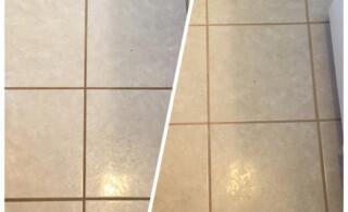 before removing ceramic tile