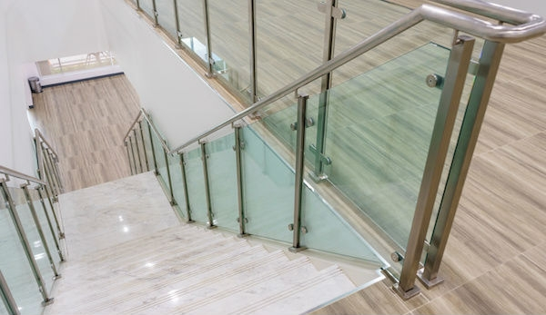 2020 Glass Deck Stair Railing Costs Per Foot Homeadvisor | Stair Railing Cost Per Linear Foot | Rod Railing | Stair Case | Pressure Treated | Average Cost | Wrought Iron Railings