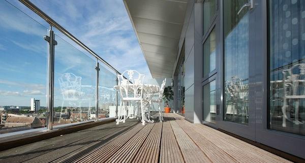 2020 Glass Deck Stair Railing Costs Per Foot Homeadvisor   Handrail Cost Per Foot