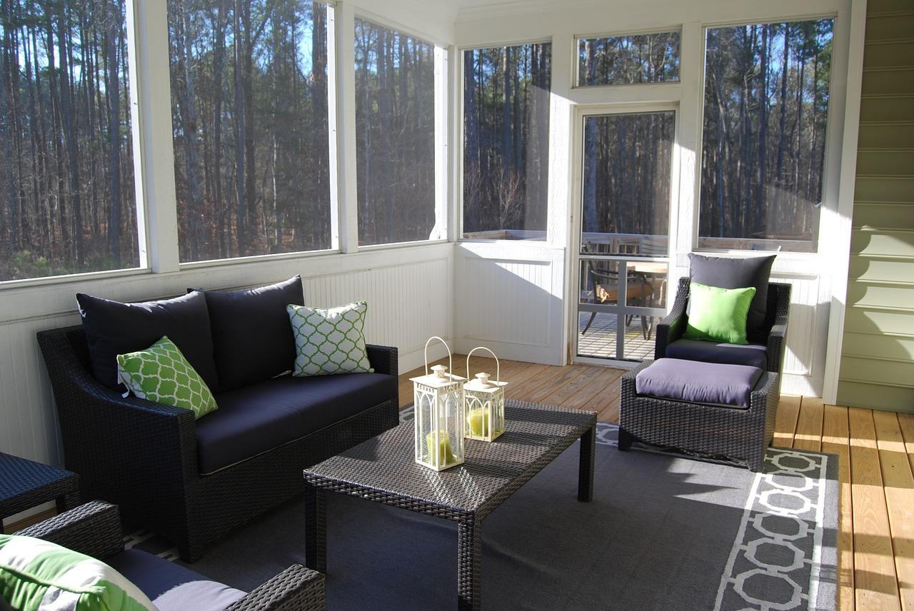 Small Sunroom Ideas- Cheap Ways to Decorate Sunroom ... on Cheap Patio Enclosure Ideas  id=58407