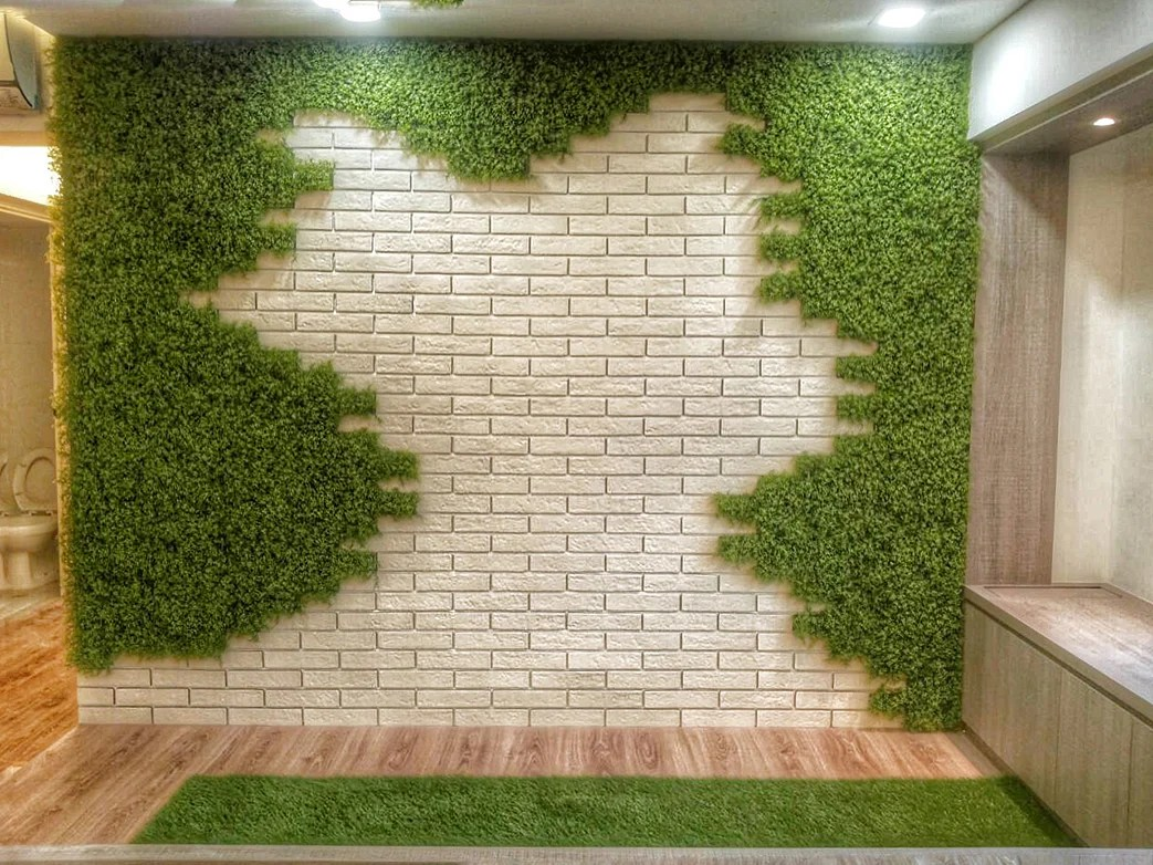 10 ways to liven up your home with artificial greenery ... on Wall Sconces For Greenery Decoration id=54726