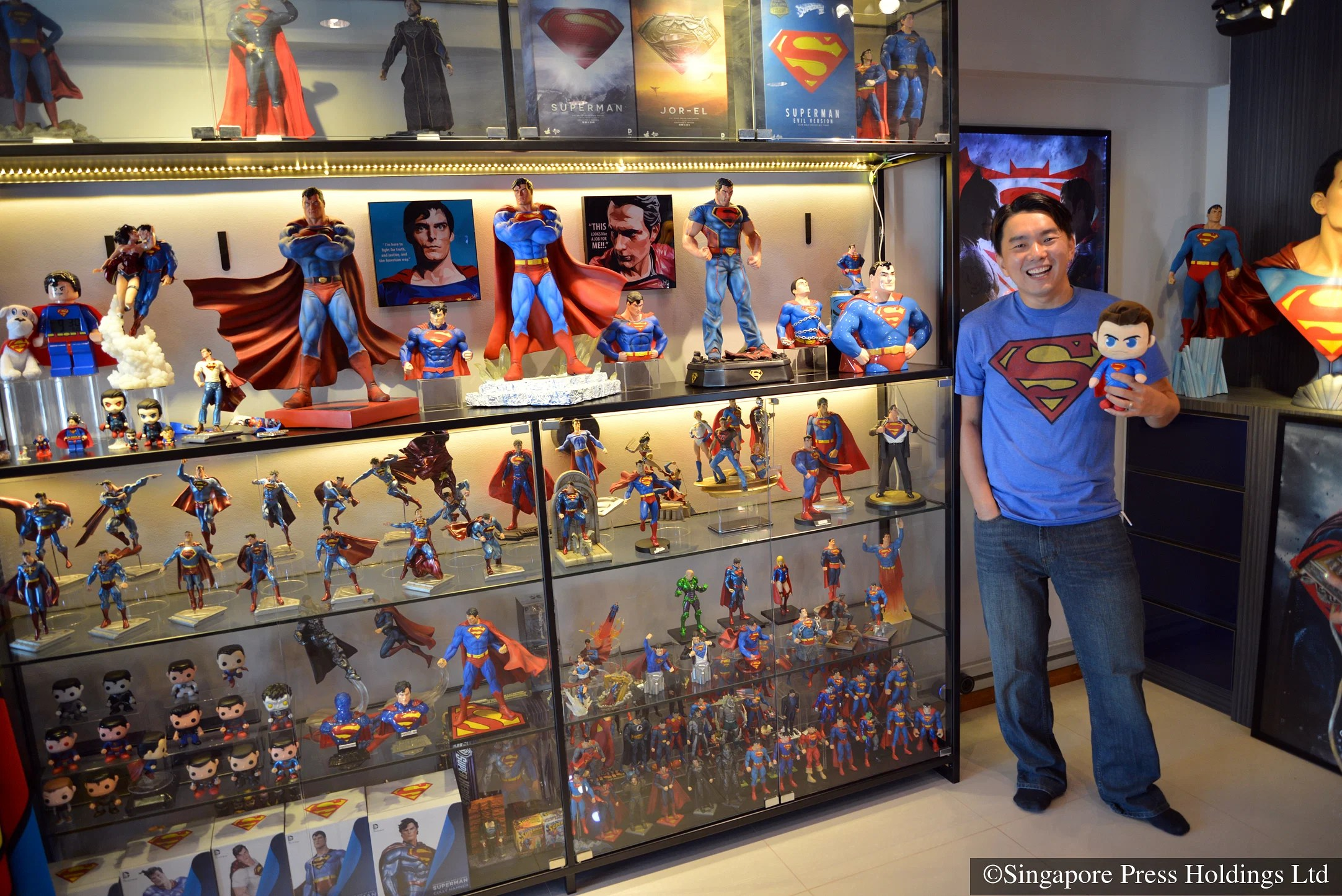 See The Home Of A Superman Superfan Home Amp Decor Singapore