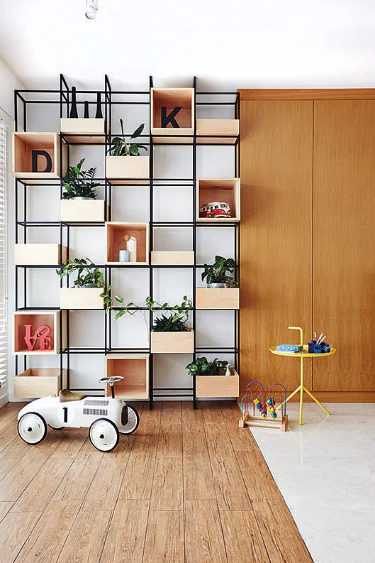 6 Design Ideas For Eye Catching Geometric Storage Feature