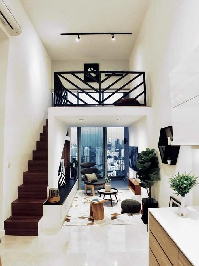House Tour A Two Bedroom Loft Packed With Stylish